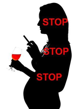 Tabac alcool et drogues au cours de la grossesse - Enceinte avant retour de couche symptomes ...