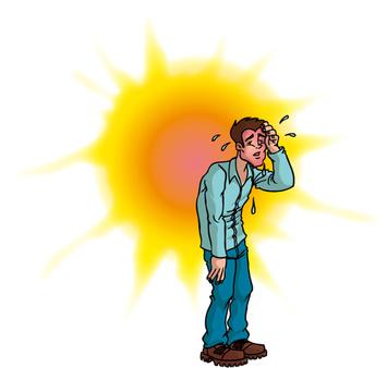 Coup de chaleur sympt mes traitement d finition - Symptome coup de chaleur bebe ...